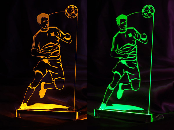 Lampka Piłkarz