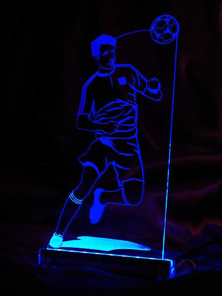 Lampa Led Piłkarz